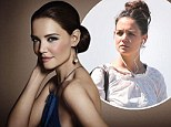 A tale of two Katies! Holmes looks flawless in stunning new Bobbi Brown advert... as she goes make-up free for riverside stroll in New York