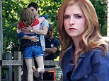 Pitch perfect! Anna Kendrick shows her flair for song and romance on the set of new musical The Last Five Years