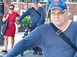 On the comeback trail: Philip Seymour Hoffman enjoys a bike ride after stint in rehab for heroin abuse