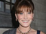 Singer Carla Bruni modelled two sets of Bulgari jewellery at the brand's High Diva collection launch in Portofino