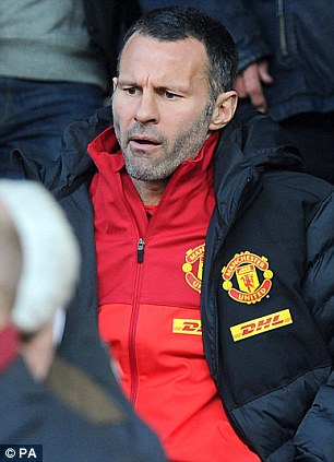 Missing out: Ryan Giggs