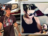 Justin Bieber 'keeps a private jet waiting for eight hours in Miami... as he searches for pet monkey'