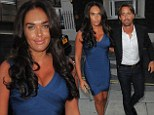She's far from feeling blue! Beaming Tamara Ecclestone enjoys one last date night with husband Jay before family holiday