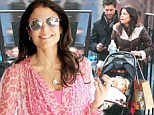 Divorce battles take a rough turn as Bethenny Frankel and Jason Hoppy 'bicker in court over junk food and other trivial details' in custody fight for daughter Bryn
