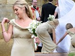 Chelsy Davy and her revealing dress