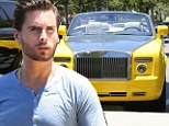 Is that how you treat your toys, Scott? Lord Disick commits driver faux pas as he leaves his $500,000 Rolls Royce off-kilter in parking spot