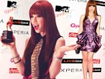 Carly Rae Jepsen triumphantly took home the Best New Artist statuette at the MTV Video Music Awards Japan in Chiba Saturday