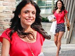 Looks like that went well! Smiling Bethenny Frankel parades her toned legs after facing ex Jason Hoppy in divorce court