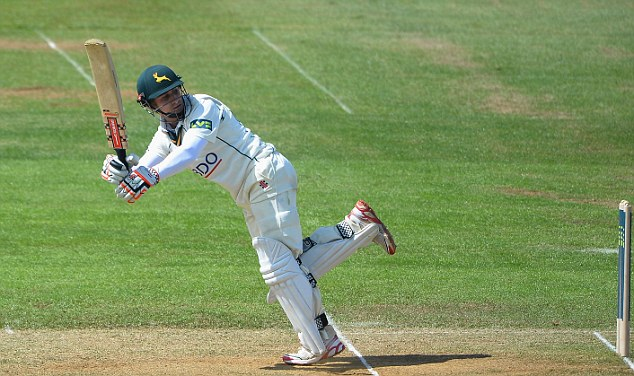 Centurion: The stylish James Taylor again showed that he should be given another England chance