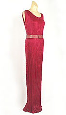 The Fortuny pleated silk gown