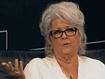 During a talk at the New York Times, Paula Deen discusses her family's history and her great-grandfather who used to own 30 slaves She justifies her extreme views by stating 'we're all prejudiced against one thing or another.'