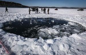 In der Nähe des Tschebarkul-Sees sollen die Meteoritenteile gefunden worden sein.