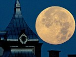 The biggest and brightest full moon of the year graces the sky today as our celestial neighbor swings closer to Earth than usual
