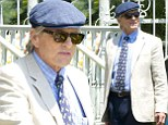 A fine chap in a dapper cap: Michael Douglas continues to look like the perfect gentleman on set of his new movie with Diane Keaton