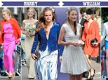 Harry and William had to meet nine of their combined exes when they went to a recent society wedding