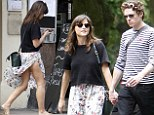 Jenna Coleman and Richard Madden on a date in the sun