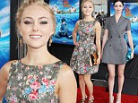 Going Way Way Back to the 80's? AnnaSophia Robb and Krysten Ritter show off their toned legs in fancy frocks at the premiere for new movie The Way, Way Back