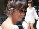 Must be on sister duty! Kourtney Kardashian picks up Italian lunch for the family while Scott Disick grabs the drinks