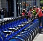 Bike share: New York officials have ripped out multiple CitiBike docking stations after rich residents said they didn't want them cluttering their streets