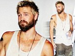 My, how you've changed! Chad Michael Murray wanders through Los Angeles with scruffy beard... for his new movie role