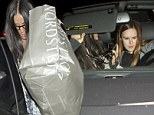 The reconciliation continues: Demi Moore cheers on her daughter Rumer Willis as she performs at a Hollywood hotspot, after another fun night out at a comedy club together