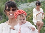Keeping Up With Penelope! Kourtney Kardashian treats her children to a day on the beach... where her youngest can barely contain her excitement