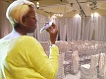 No jitters here! Real Housewives' NeNe Leakes relaxes before her white wedding to ex-husband Gregg Leakes
