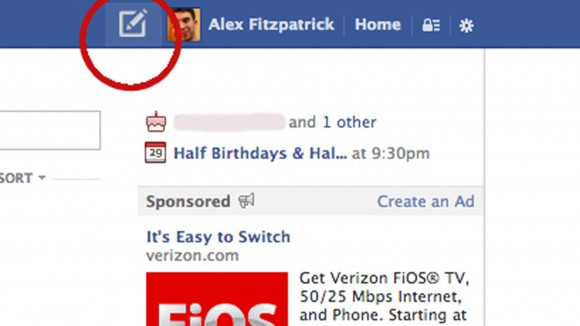 Facebook is testing out a new button
