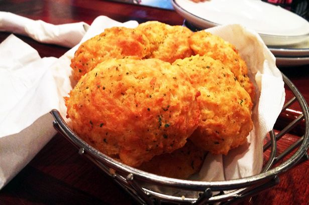 Cheddar Bay Biscuits from Red Lobster restaurant
