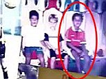 Once a red: Thiago Alcantara has been pictured wearing a Manchester United shirt when he was younger