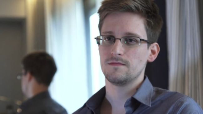 American technical contractor and former CIA employee Edward Snowden (file photo)
