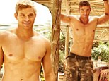 No shirt necessary! Kellan Lutz bares his six-pack abs for new clothing campaign