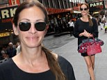 Leggy Julia Roberts is the mane attraction as she steps out for matinée performance of The Lion King musical