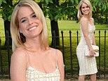 Looking good: Alice Eve looked amazing at the Serpentine Summer Party in London