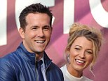 Fashion police: Ryan Reynolds said he would never leave the house without outfit approval from wife Blake Lively