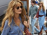 Ready for some Californication! David Duchovny and Natascha McElhone film scenes for new series in Los Angeles