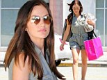 Minka Kelly was spotted shopping in Los Angeles, California on Wednesday