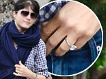 s Selma Blair's engagement to baby daddy Jason Bleick back on? Beaming star sports sparkler on ring finger after cosy family trip