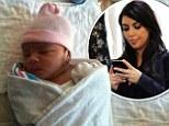 Kim Kardashian texted fake baby pics