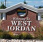 West Jordan sign