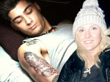 Zayn Malik has had a tattoo of girlfriend Perrie Edwards placed on his upper arm