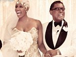 Take two: NeNe and Gregg Leakes married in Atlanta over the weekend for the second time. The bride wore a dazzling gown by Baracci