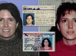 Social Security Administration investigator Joe Velling has been trying to name a woman, pictured in 1990 left and right, who took multiple identities before killing herself in 2010.
