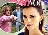 'I was very protected': Emma Watson radiates on the cover of Teen Vogue and opens up about her early stardom