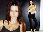 Kendall Jenner at a V magazine go-see