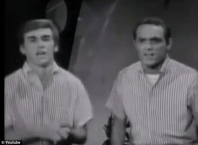 Awkward: Out-of-tune singers have posted a version of The Beach Boys classic 'I Get Around'
