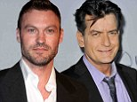 Joining the cast: Brian Austin Green will be joining Charlie Sheen on the cast of Anger Management