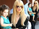 Going with the flow: Rachel Zoe steps out in another loose fitting outfit amid reports she is pregnant with baby number two