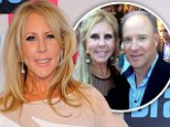 'My checkbook and heart are guarded': Real Housewives' Vicki Gunvalson hints it may finally be over with boyfriend Brooks Ayers