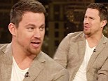 'I had a crying fit': Channing Tatum tells Chelsea Handler what really happened inside wife Jenna Dewan's labour room